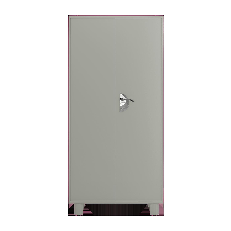 Buy Storwel M3 2 Door Steel Almirah in Prince Grey | Godrej Interio