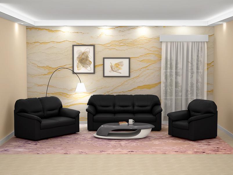 Buy Rio 2 Seater Sofa In Leatherette Black Godrej Interio Samye novye tvity ot godrej interio (@godrej_interio): inr