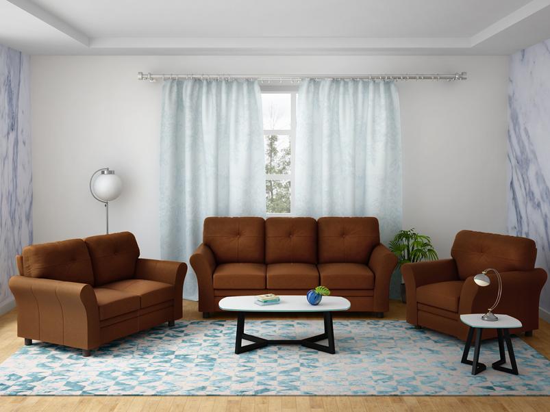 Buy Orlando 3 Seater Sofa In Leather Brown Godrej Interio Download pdf of godrej interio sofa brochure from ecatloggodrejinterio.com. inr