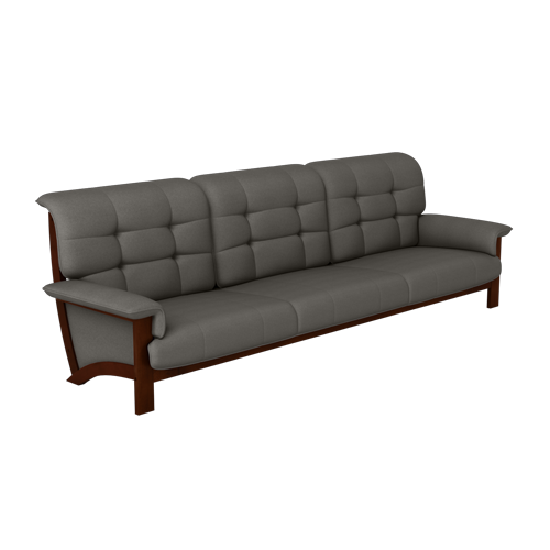 Oakland 5 Seater Sofa In Rubber