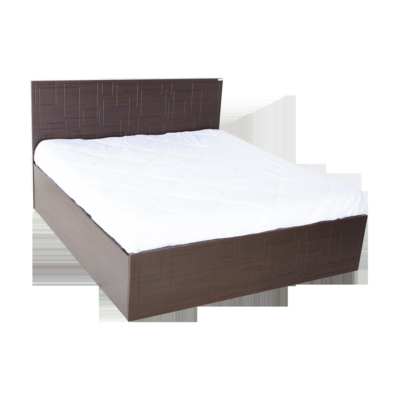 Buy Squadro Queen Size Bed With Storage In Cinnamon Godrej Interio