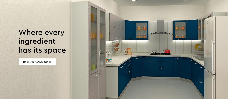Kitchen Furniture - Buy Kitchen Furniture Online - Godrej Interio
